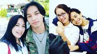 Jefri Nichol dan Ibunda (Sumber: Instagram/junitalandrat)