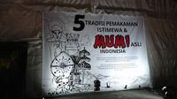 Pameran Mumi dan Tradisi Pemakaman di Pekan Kebudayaan Nasional 2019. (Liputan6.com/Dinny Mutiah)