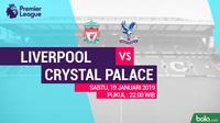 Premier League: Liverpool Vs Crystal Palace (Bola.com/Adreanus Titus)