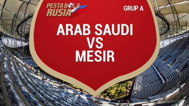 Berita video data dan fakta saat Arab Saudi mengalahkan Mesir 2-1 di Grup A Piala Dunia 2018.