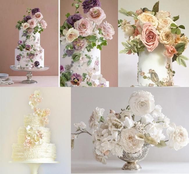 Kue bunga super cantik buatan Maggie yang sayang banget buat dimakan/copyright facebook.com/maggieaustincake