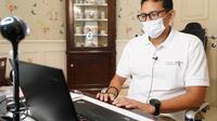 Menteri Pariwisata dan Ekonomi Kreatif, Sandiaga Salahuddin Uno. (Ist)