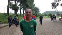 Penyerang Timnas Indonesia U-16, Alexandro Felix Kamuru.