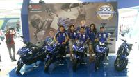 Lima model Yamaha dengan livery MotoGP
