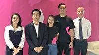 English First Adults memperkenalkan 12 ambassador di CoHive 101, Kuningan, Jakarta Selatan, 5 Februari 2020. (Liputan6.com/Asnida Riani)
