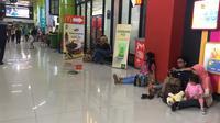 Suasana di Stasiun Gambir. (Liputan6.com/Lizsa Egeham)