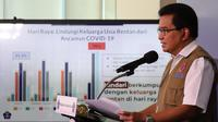Juru Bicara Satuan Tugas Penanganan COVID-19 Wiku Adisasmito mengimbau semua pihak memperhatikan protokol kesehatan selama Idul Adha saat konferensi pers di Graha BNPB, Jakarta, Kamis (30/7/2020). (Dok Tim Komunikasi Publik Satgas Penanganan COVID-19)