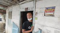 Kediaman keluarga penerima manfaat (KPM) bantuan dari Kemensos di Blora, Jawa Tengah. (Liputan6.com/Ahmad Adirin)