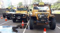 Land Rover Club Indonesia (LRCI) menggelar Sumatra Tribut 2020 sebagai perayaan Camel Trophy yang menginjak usia 40. (ist)