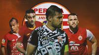 Persija Jakarta - Riko Simanjuntak, Otavio Dutra, Andritany Ardhiyasa, Marko Simic (Bola.com/Adreanus Titus)
