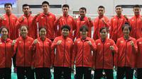 Pemain Indonesia yang akan turun pada Kejuaraan Dunia Junior 2018, pada 5-18 November. (PBSI)