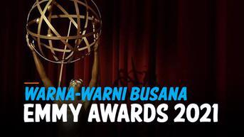 VIDEO: Warna-Warni Pesohor Dunia di Karpet Merah Emmy Awards 2021