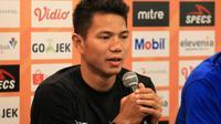 Achmad Jupriyanto, bek Persib. (Bola.com/Erwin Snaz)