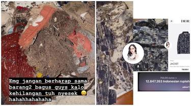 7 Potret Baju Branded Anak Rachel Vennya Dimakan Rayap, Ditaksir Jutaan Rupiah