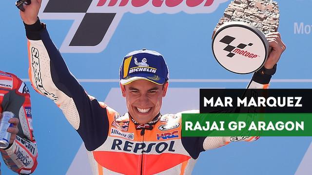Berita Video Lorenzo Terjatuh, Marc Marquez Menangi MotoGP Aragon