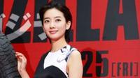 Haru, artis cantik asal Jepang menyebutkan dirinya merasa sama dengan karakter yang ia mainkan. (AP)