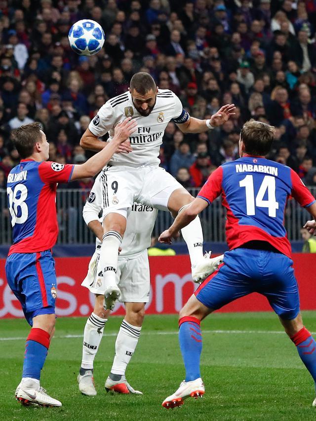 CSKA Moscow Tekuk Real Madrid 1-0