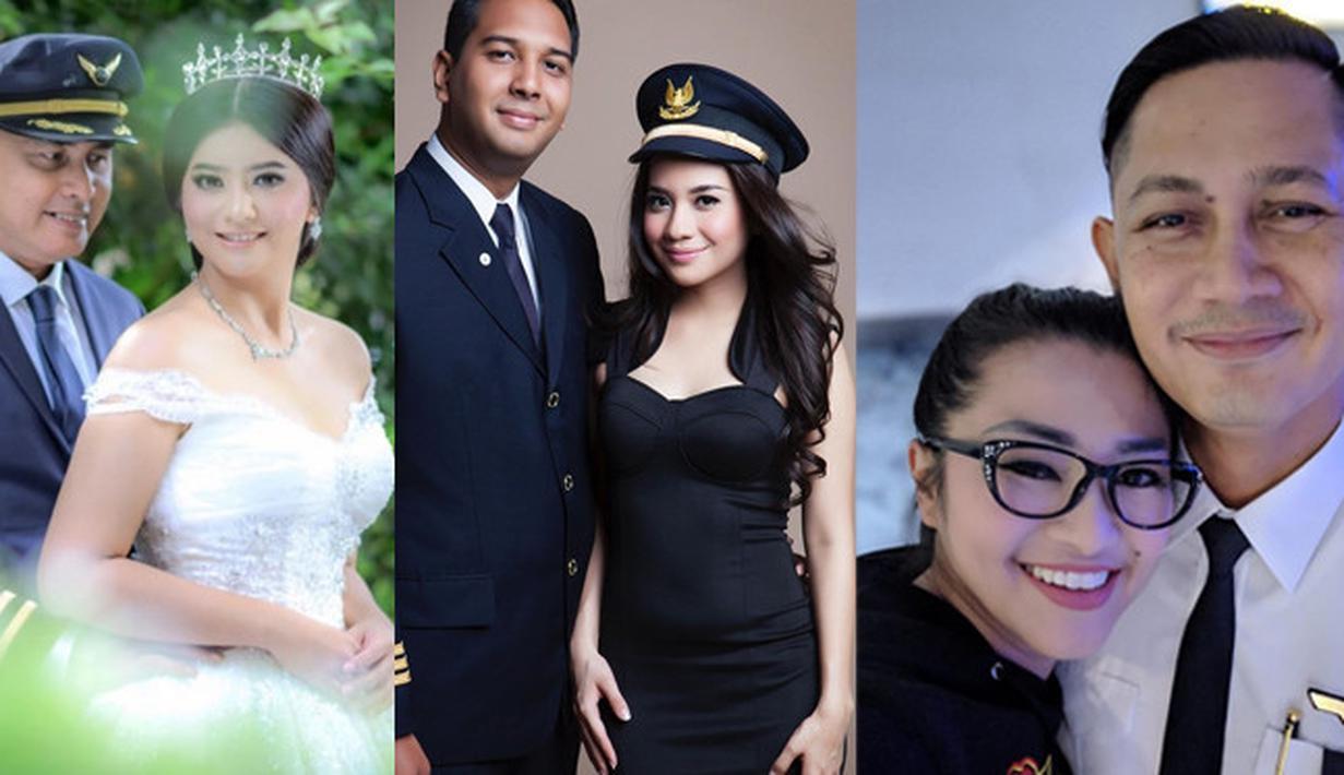 5 Artis Nikah dengan Pilot (Instagram)