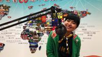 Lola Amaria saat mengikuti nonton bareng film Lima di Chinese Taipei