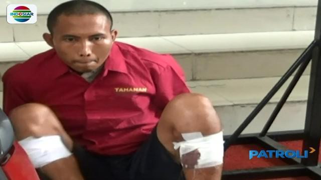 Sempat buron, seorang pelaku penculikan dan penganiayaan dengan korban siswi SMA di Sumatra Utara berhasil ditengakap.