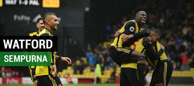 Berita video beragam alasan Watford bisa belum terkalahkan hingga pekan ke-4 Premier League 2018-2019.