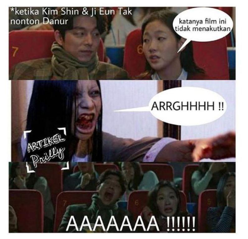 Pemain Utama Goblin Ikut Tonton Film Prilly Latuconsina ...