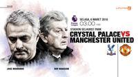 Crystal Palace vs Manchester United (Liputan6.com/Abdillah)