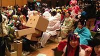 'Bukan wisuda biasa', para mahasiswa di Jepang bebas berekspresi menggunakan kostum apapun saat wisuda.