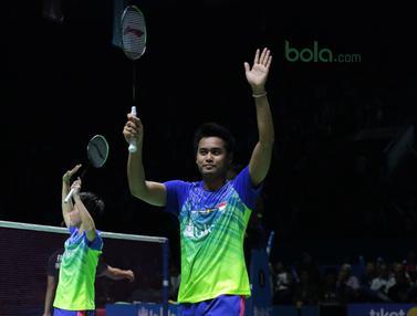 Tontowi Ahmad/Liliyana Natsir, Gloria/Hafiz, Indonesia Open 2018
