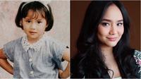 Gita Gutawa muda dan sekarang (Sumber: Instagram/gitagut)