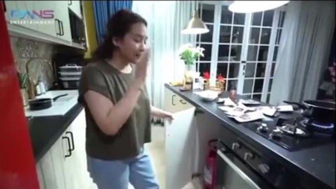Nagita Slavina Buka Suara Mengenai Tabung Gas 3 Kg di Rumahnya