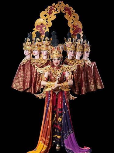 Kisah di Balik Busana Tradisional Terbaik Puteri Indonesia 2019