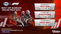 Formula 1 Fox Sports. (Sumber : dok. vidio.com)