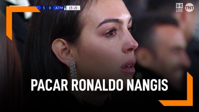Fakta Georgina Rodriguez, Cewek yang Nangis Saat Ronaldo Hat-trick
