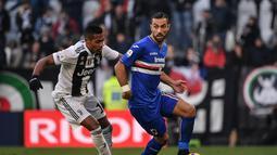 1. Fabio Quagliarella (Sampdoria) - 20 gol dan 6 assist (AFP/Marco Bertorello)