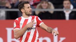 2. Cristhian Stuani (Girona) - 11 Gol (2 Penalti). (AFP/Josep Lago)
