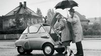 Microcar pun menjadi sarana transportasi sehari-hari yang jamak digunakan oleh masyarakat Eropa.