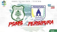 Liga 1 2018 PSMS Medan Vs Persipura Jayapura (Bola.com/Adreanus Titus)