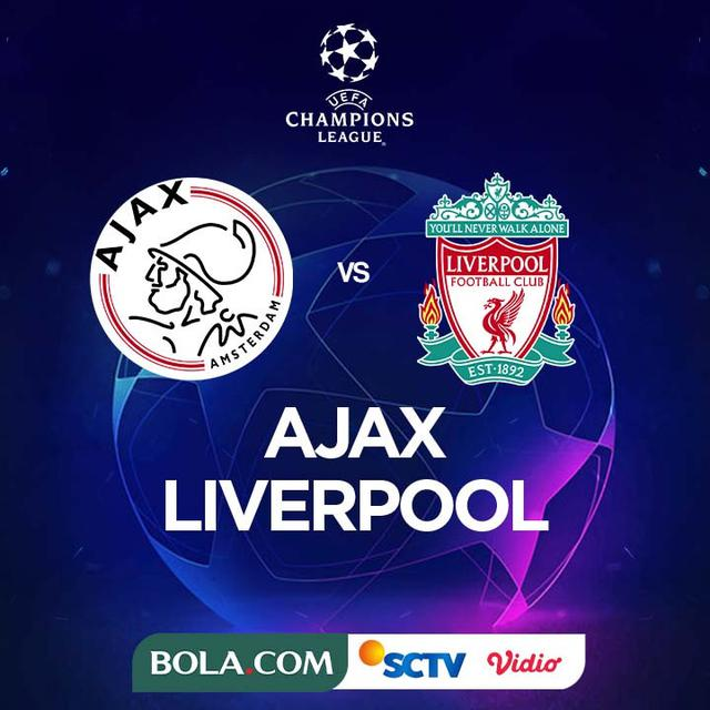 Link Live Streaming Liga Champions Malam Ini Ajax Vs Liverpool Dunia Bola Com
