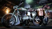 Royal Enfield Classic 500 Pegasus cuma ada 40 unit di Indonesia. (Royal Enfield)