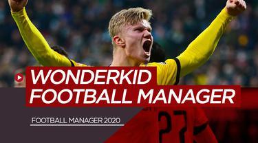 Wonderkid Football Manager. (Bola.com/Dody Iryawan)