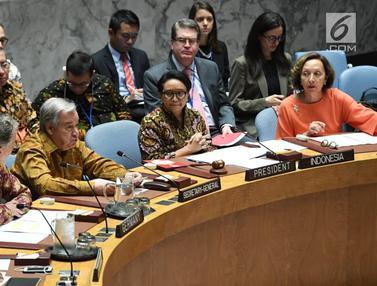 Bangga, Delegasi DK PBB Kenakan Batik Saat Sidang