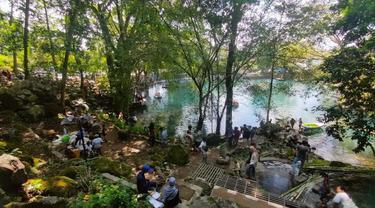 Menyapa Pagi Dari Danau Cermin di Talaga Cicerem Kabupaten Kuningan