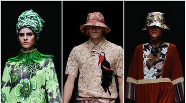 Jakarta Fashion Week 2016: Pedalaman Kalimantan ala Itang Yunasz
