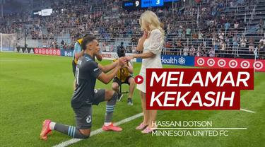 Berita Video, Momen Romantis Terjadi di Liga MLS Dimana Pemain Minnesota United, Hassani Dotson Melamar Kekasihnya Usai Pertandingan