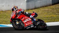 Pembalap Ducati, Andrea Dovizioso. (Twitter Ducati)