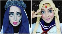 Makeup karakter (sumber: Instagram/ queenofluna)