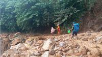 Banjir bandang dan longsor Lebak. (Liputan6.com/Yandhi Deslatama)
