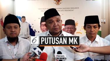 Koalisi TKN Jokowi- Ma'ruf Amin berencana menggelar deklarasi kemenangan usai putusan MK. Namun, hal tersebut masih didiskusikan antar parpol koalisi pendukung paslon nomor urut 01 tersebut.
