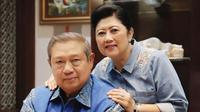 Kisah tokoh yang setia temani istri saat dirawat di RS (Sumber: Instagram/aniyudhoyono)